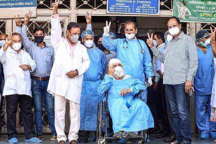 Coronavirus recovery rate at 25 percent in 14 days Indian govt lockdown