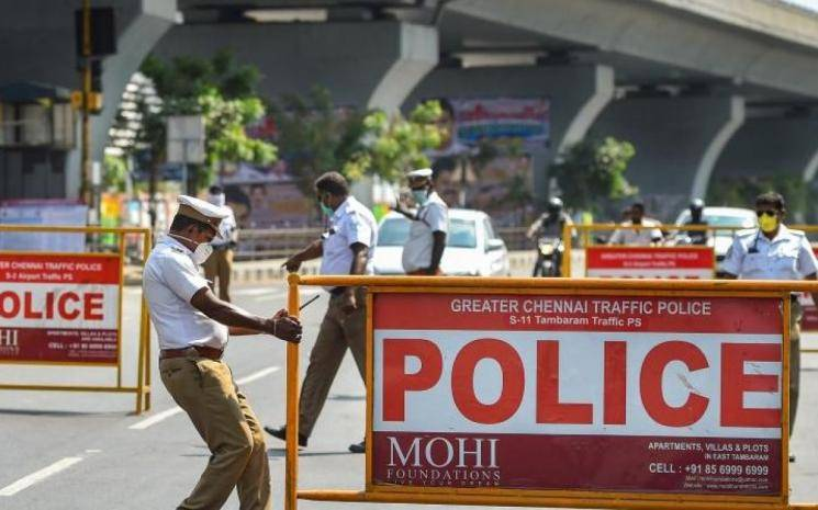 Coronavirus lockdown Chennai Police use Eye Tracker app for tracking violators