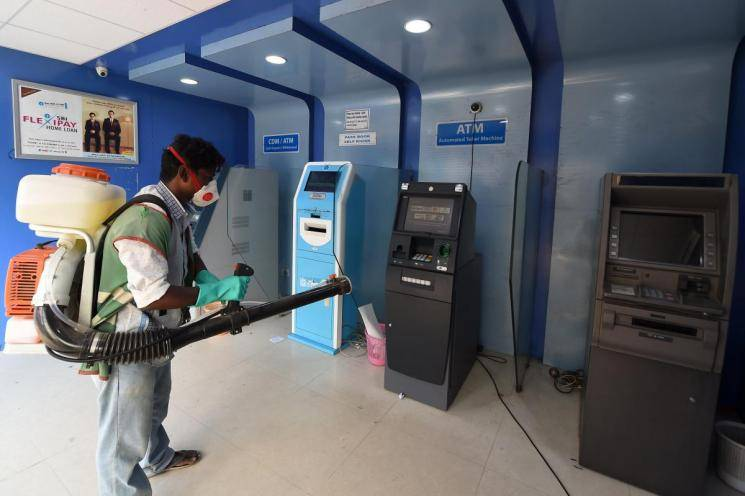 Coronavirus Chennai New rules for ATMs roll into effect