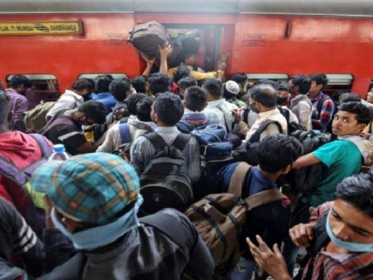 Ministry of Home Affairs chooses trains for migrants to return home