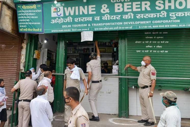Lockdown | Delhi charges 70% special corona fee on liquor