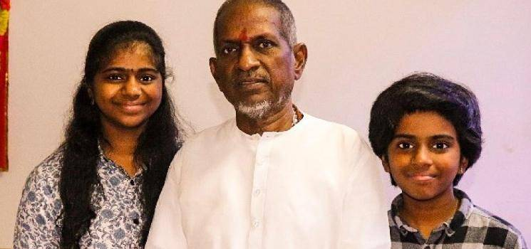 Isaignani Ilaiyaraaja's video call with Lydian Nadhaswaram - lovable Instagram post here!