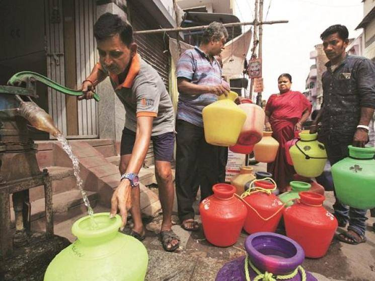 Chennai Corporation shifts from lorries to pipes for drinking water supply!