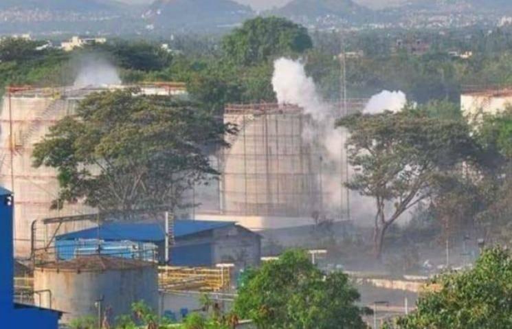 Visakhapatnam gas leakage on chemical plant