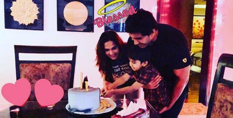 Soundarya Rajinikanth Celebrates Veds 5Th Birthday