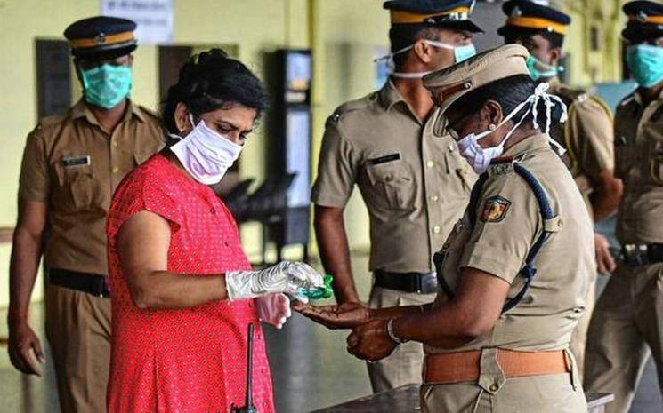 Policewoman at Tamil Nadu Chief Minister's home not infected by coronavirus