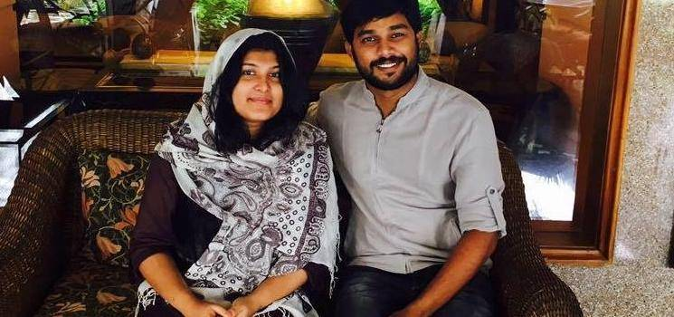 Premam actor Sharafudheen blessed with his second baby, a girl child!