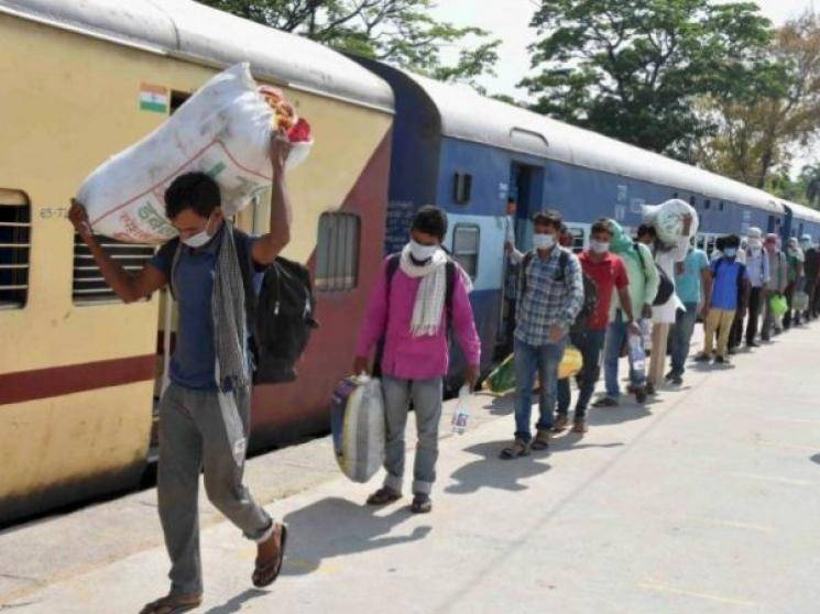 COVID-19: Migrant workers return to Telangana from Bihar for better wages!