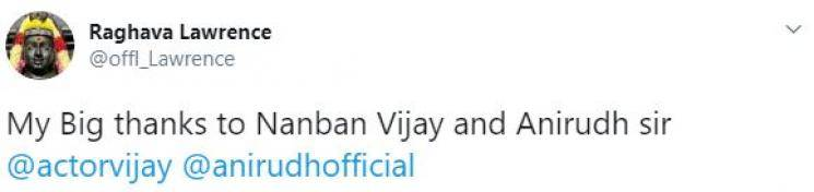 WOW: Thalapathy Vijay Accepts Raghava Lawrence's Request!
