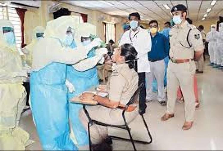 100 policemen in corona in Chennai