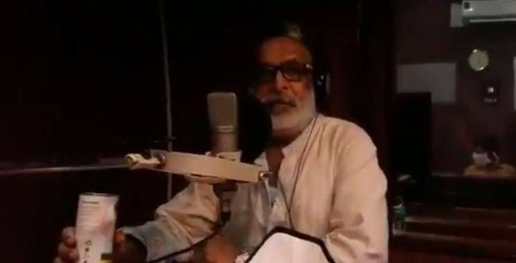 Nasser Starts His Dubbing Work For Kabadadaari