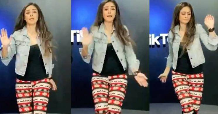 Simran's dance version of Butta Bomma goes viral