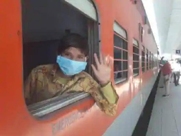Special train with 800 passengers from Delhi, arrives in Chennai!