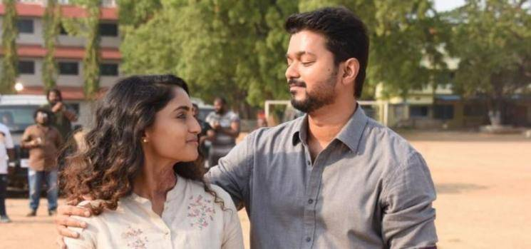 Reba Monica Imitates Bigil Nayanthara Dialogue