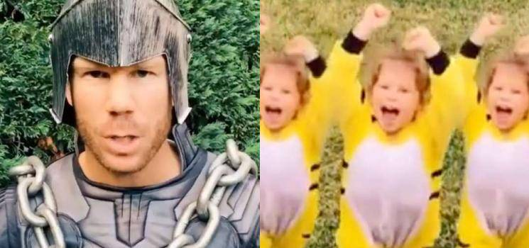 David Warner's TikTok video of Baahubali Scene goes viral on social media - check out