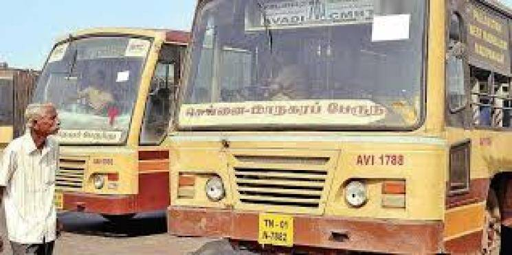 200 Govt Buses operating in Chennai