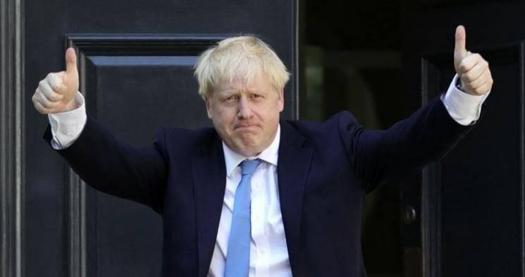 British PM Boris Johnson assures