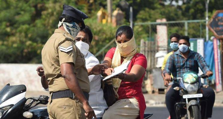 Corona lockdown | 502 people fined in Madurai for not wearing masks; Rs 59,800 fine amount collected