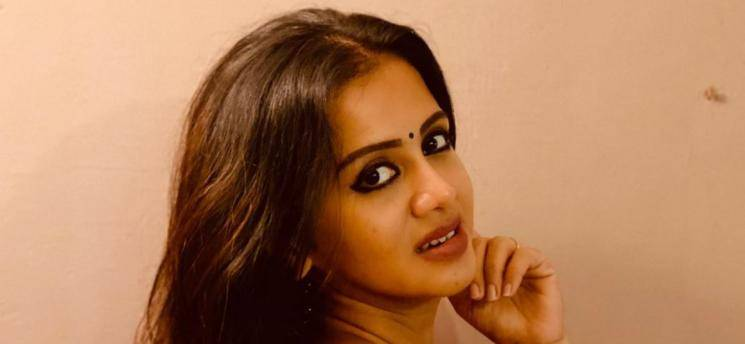 Anjana Shares Her Tiktok Video In Traditional Wear