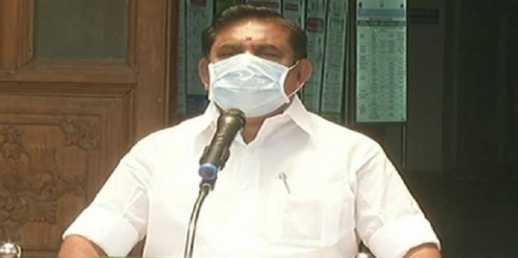 Corona impact is not socially widespread in Tamil Nadu
