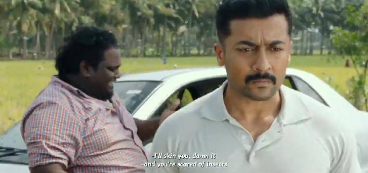 Suriya's Kaappaan movie scene happens in real life - locust attack in India   Videos Go Viral