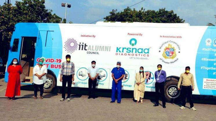 Coronavirus testing bus launched in Mumbai - first of its kind in the world!