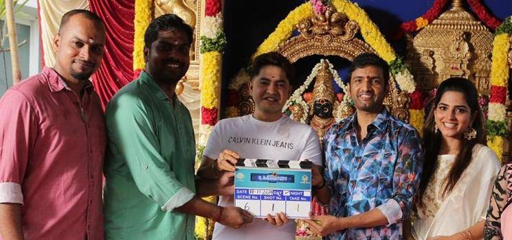 Santhanam's Dikkiloona First Look Poster Released - triple treat!
