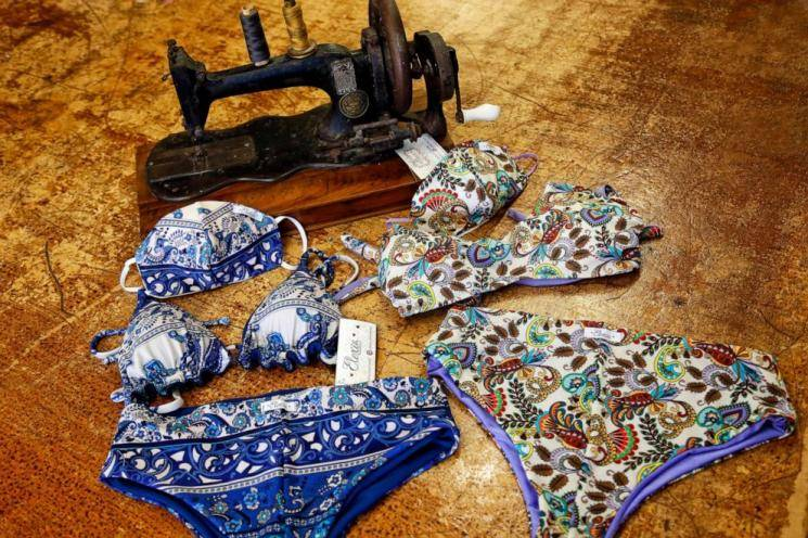 REPORT: Fighting corona with fashion - the Trikini, shoe masks and more!