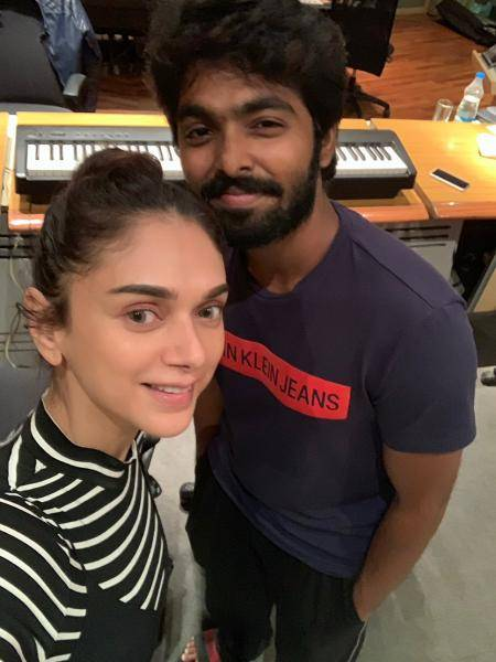 Dhanush - Aditi Rao Hydari's song from G.V.Prakash's Jail to release very soon!