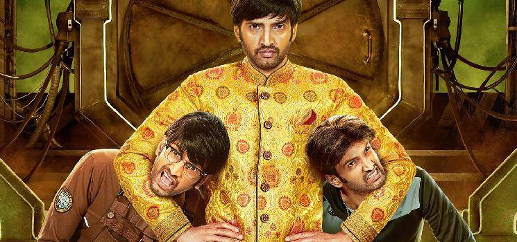 Santhanam's Dikkiloona Third Look Poster Released   Yogi Babu