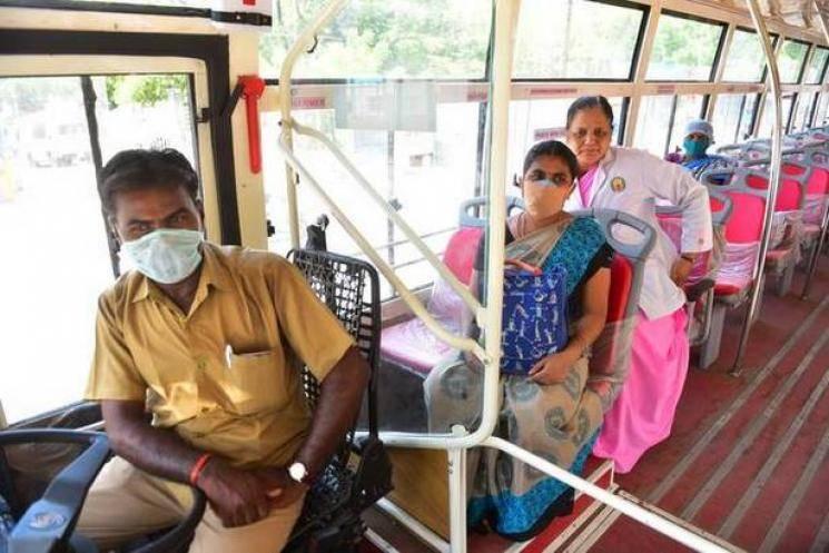 Coronavirus crisis   Tamil Nadu government's guidelines for bus travel during lockdown 5