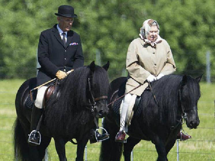 Queen Elizabeth rides a horse as UK eases lockdown rules!