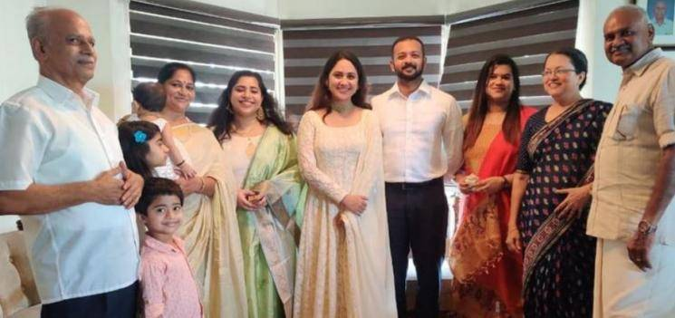 Actress Mia George Gets Engaged To Ashwin Philip