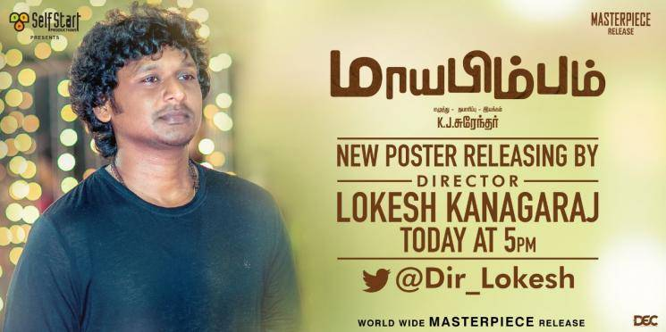 Master director to release a new look poster today
