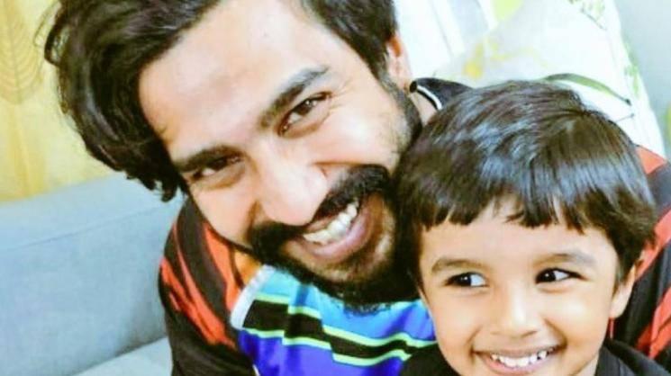 Vishnu Vishal Meets His Son After 75 Days