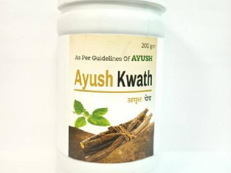 Delhi company comes up with immunity booster Ayush Kwath against COVID