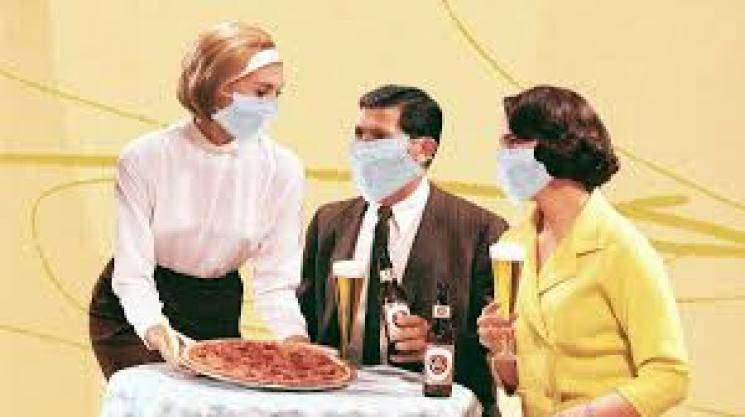 Guidelines for people eating in restaurants from today