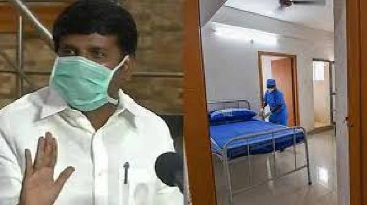 TN minister Vijayabaskar case Varadharajan coronavirus