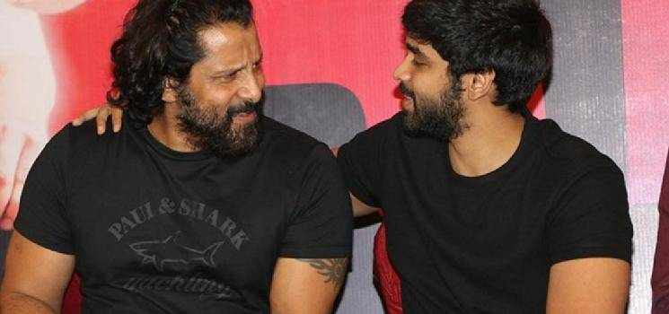 It is Official! Chiyaan and Dhruv to act together! Chiyaan 60 official announcement here!