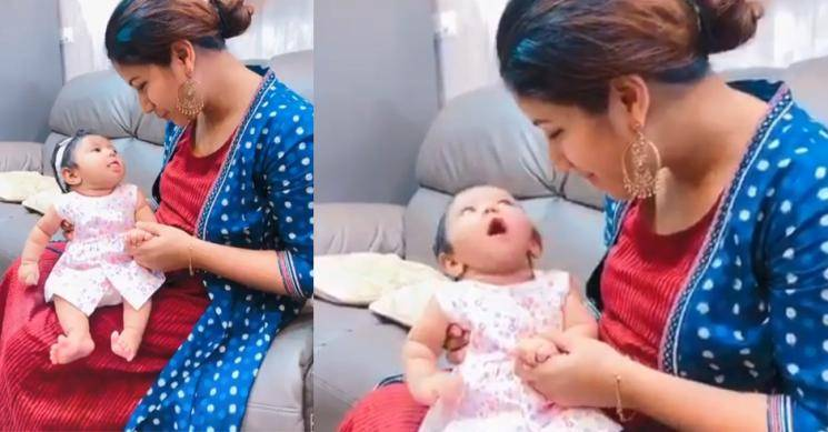 Viral video: Alya Manasa's cute video with her daughter goes viral