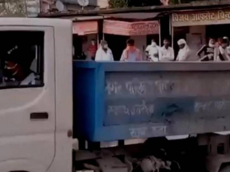 Body of UP man taken to mortuary in garbage van