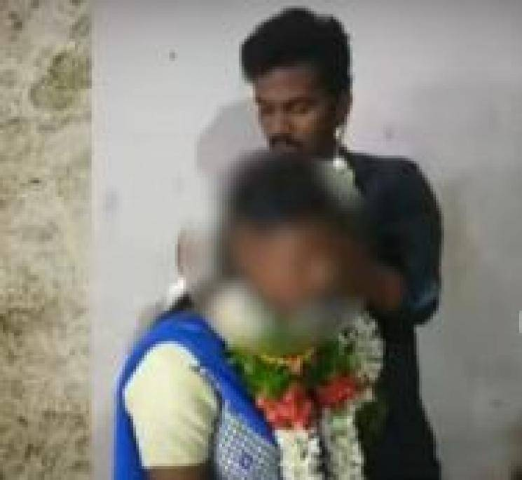 10 std girl taken to feast and suddenly married!