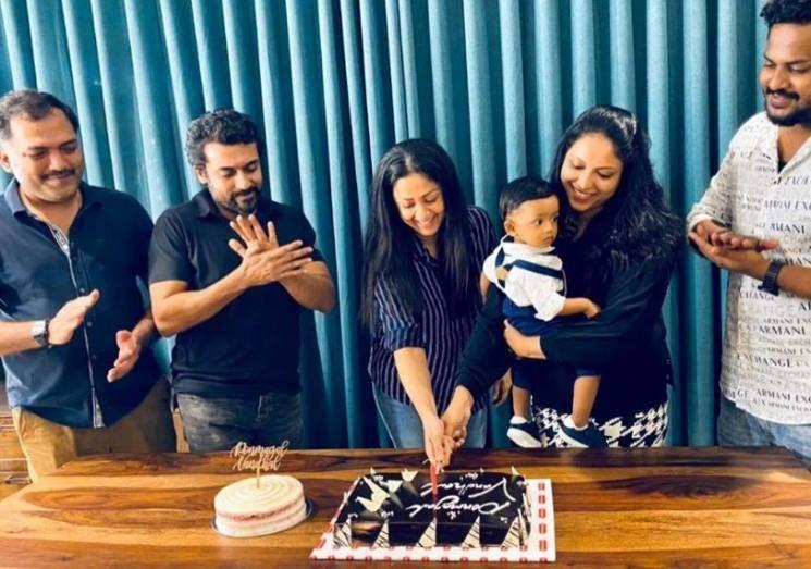 Suriya and Jyotika Gift Apple Laptop To Ponmagal Vandhal Director Fredrick