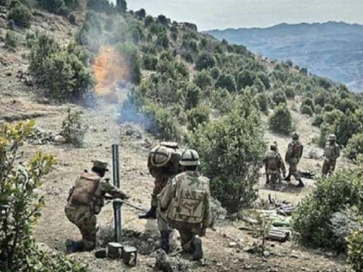 Pakistan opens fire along LOC in Jammu Kashmir Naugam