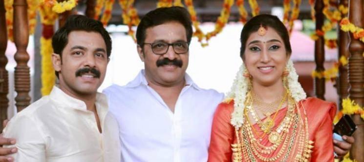 Renji Panicker Son Nikhil Gets Married To Megha Sreekumar