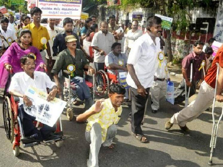 TN Govt to give 1000 rs to over 13 lakh persons with disabilities