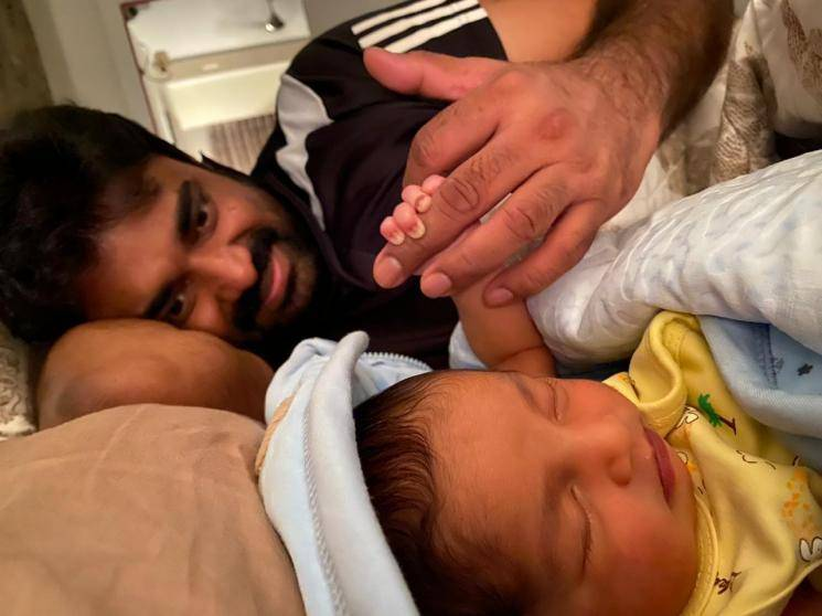 Director Vijay Baby Son Cute Picture Shared On Social Media