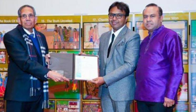 D Imman As Ambassador At Toronto TamilChair For Honorable Tamil Language