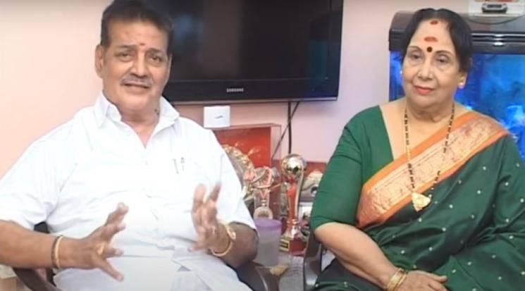 MN Rajam Husband AL Raghavan Passed Away