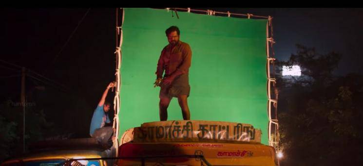 Karthi Kaithi Action Scenes Official VFX Breakdown Video Released